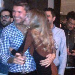 Marcelo Tinelli y Guillermina Valdés, de cumpleaños