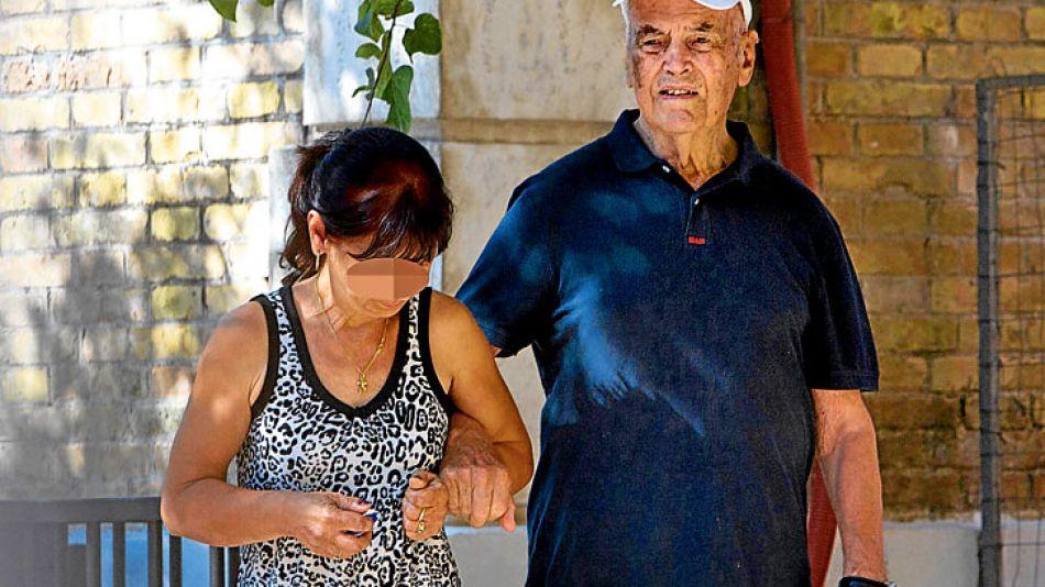 Criminal. Priebke suele caminar por Balduina, un barrio de clase media de la capital italiana.