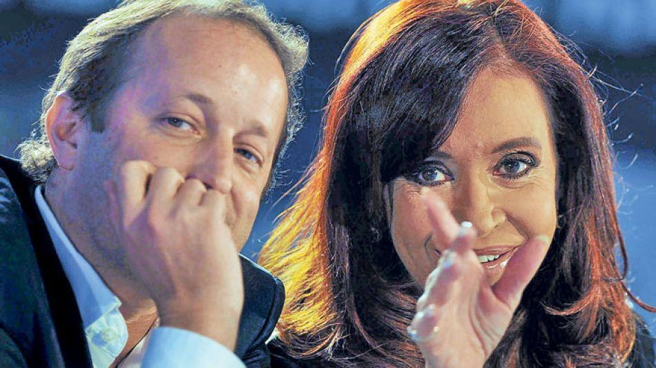 Bendición. La Presidenta llevó a su candidato a Río.