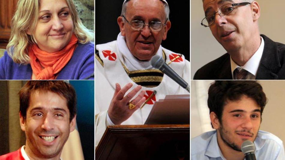 Francisco habló de los gays y la comunidad homosexual argentina le respondió.