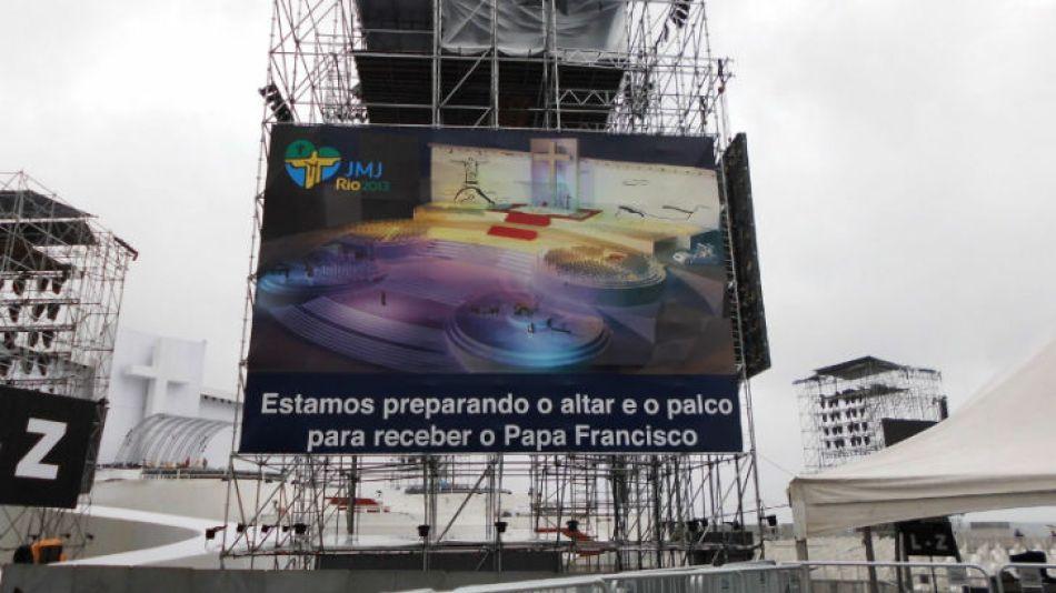 Rio es una buena excusa para cualquier viaje, pero ir a ver a Francisco ocurre sólo una vez en la vida.