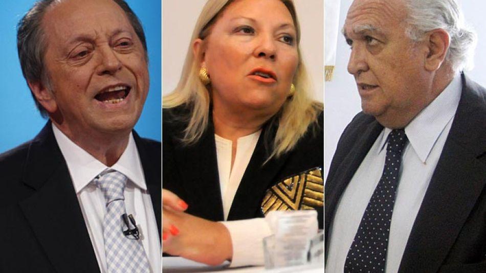 Terragno y Lavedra salieron a responder las críticas de Carrió.