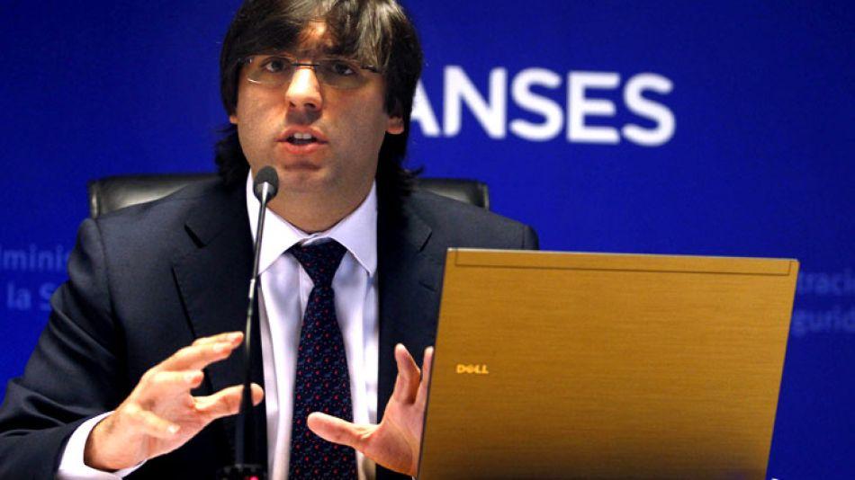 Diego Bossio, titular de la Anses.