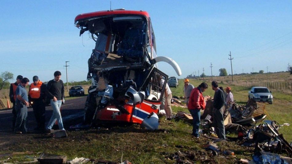 En el accidente murieron nueve alumnos y una profesora del colegio Ecos en 2006.
