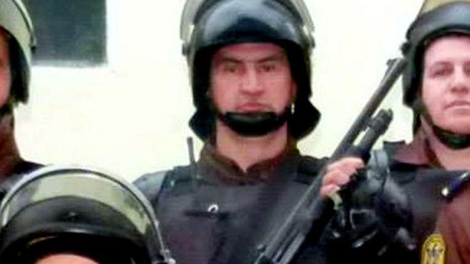Ernesto Fabián Casas, efectivo de la Guardia de Infantería de la Jefatura de Concordia.