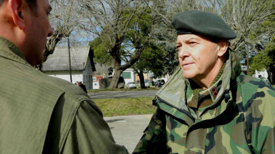 César Milani, jefe del Ejército.