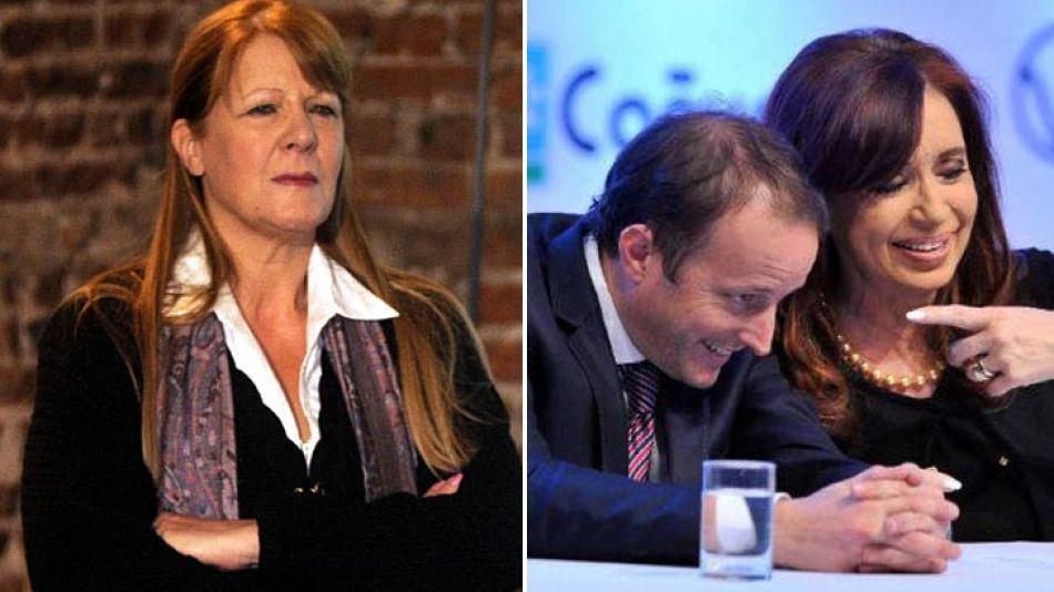 """Margarita Stolbizer denunció """"abusos"""" del Gobierno luego que ayer la Presidenta exhibiera a sus candidatos en un acto oficial."""