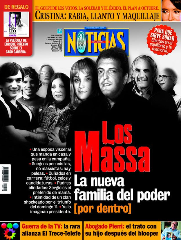 Los Massa, la nueva familia del poder