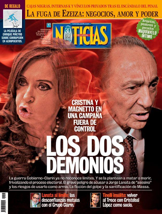 Tapa Revista Noticias 1913