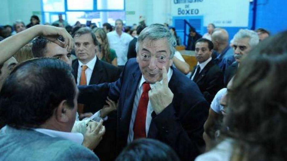 """""""¿Por qué estás tan nervioso Clarín?"""". La frase del ex Presidente, ahora diputado, fue la frase del año para los lectores de Perfil.com."""