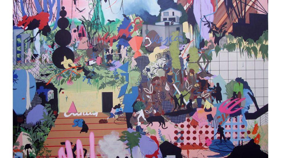Mixturas. En sus obras, la artista intuye y explora las dicotomías que nos constituyen: vegetal y mineral, natural y artificial, animal y humano, industrial y artesanal.