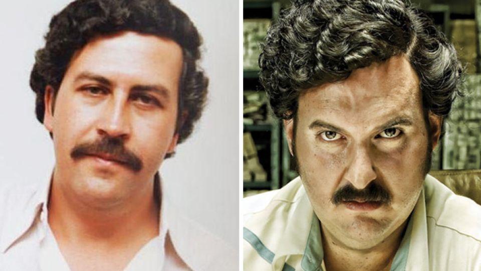 Pablo Escobar (Muerto en diciembre de 1993) / Andres Parra. Líder del Cartel de Medellín, responsable de la muerte de 40 mil personas, poseedor de una fortuna de 25 mil millones de dólares y dueño del