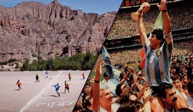CAMPAÑA. Aseguran que la única forma de que Argentina termine con los 28 años sin ganar el mundial.