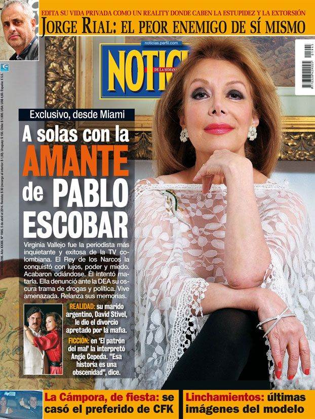 tapa revista noticias virginia vallejo