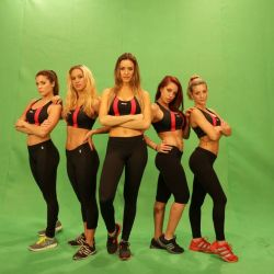 Combate Equipo Rojo (chicas)