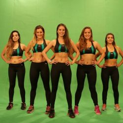 Combate Equipo Verde (chicas)