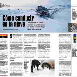 CONDUCCION NIEVE