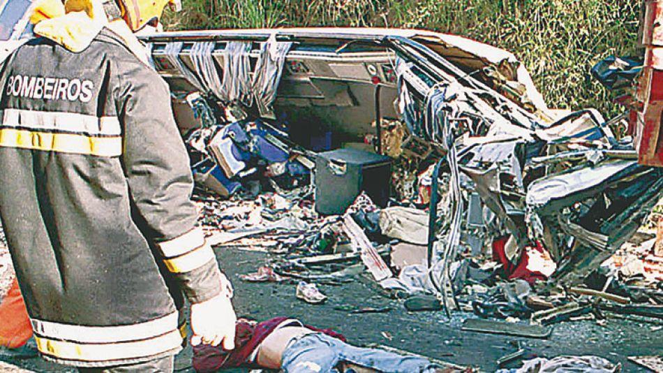 En verano. Son frecuentes los accidentes fatales que involucran a turistas argentinos.