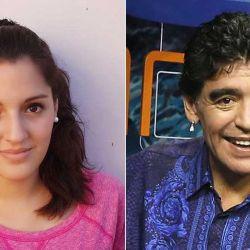 Diego Maradona y Jana Maradona