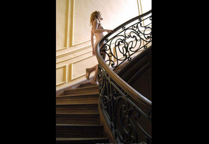 Agustina Kampfer posa desnuda como