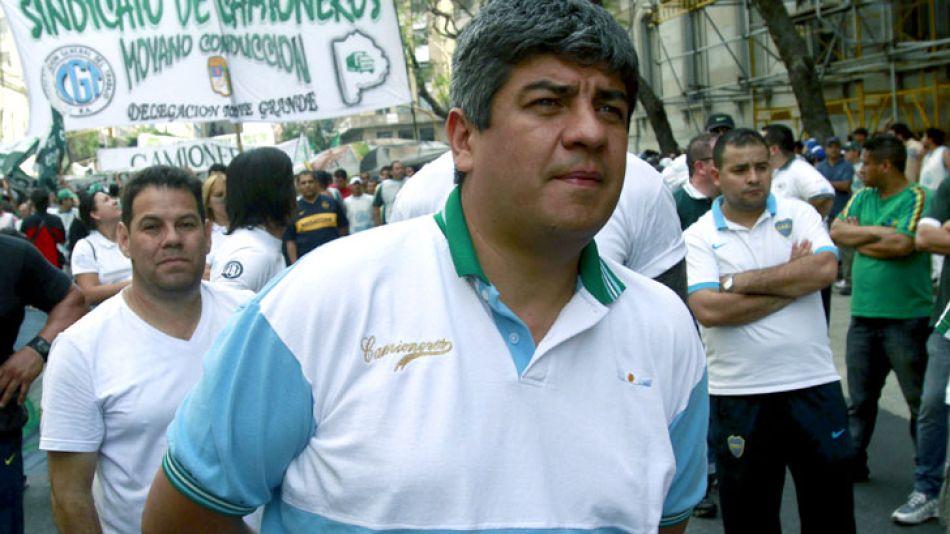 Pablo Moyano, titular de Camioneros.
