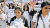 Hoy. Los centros de estudiantes secundarios apelan con frecuencia a la tragedia de 1976 para dar una identidad a sus reclamos.
