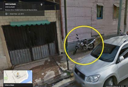 f66325991e6 La moto que usó Aguirre para intentar asaltar al turista ya la había encontrado  Google Street