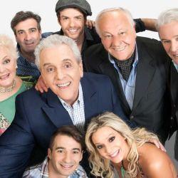 Antonio Gasalla y elenco