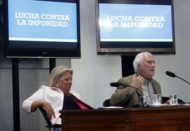El palo de Carrió a Pino: 'Tenés 80 y sos senador, ¿qué más querés?'