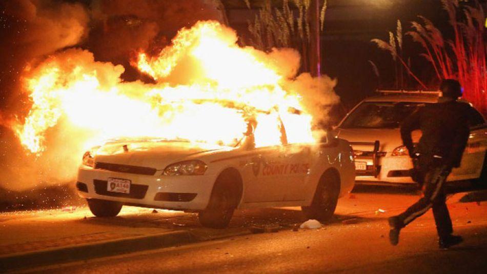 Los disturbios del lunes por la noche fueron peores que los registrados hace unos meses.