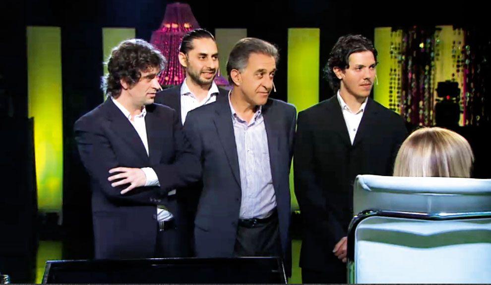 El show de los políticos en TV