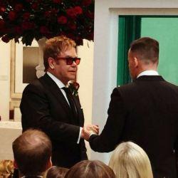 Elton John y DFavid Furnish