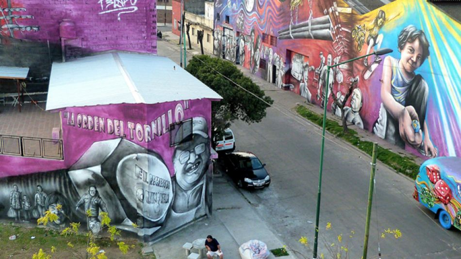 'El regreso de quinquela'. Así se llama el trabajo del referente del street art que hará historia.