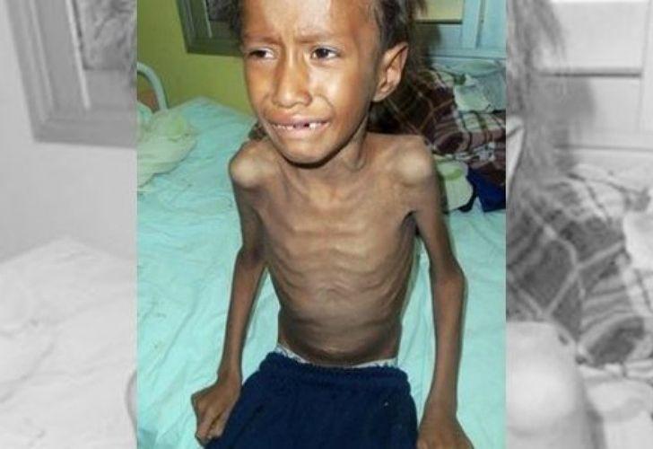 Néstor tenía siete años, era el mayor de cinco hermanos de una familia qom.