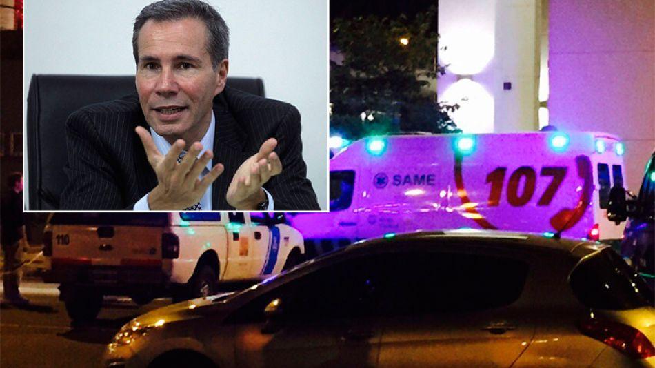 Sergio Berni ingresó a la medianoche en el edificio del fiscal Nisman.