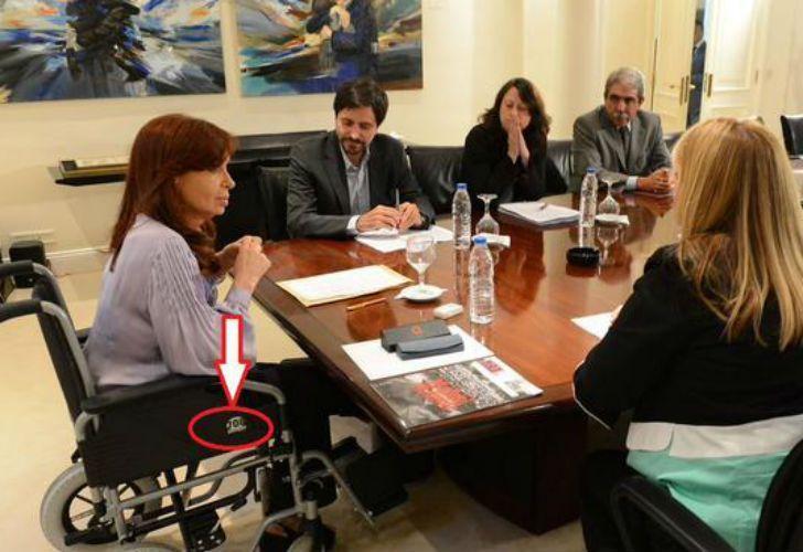 Cómo entró al país la silla de ruedas de Cristina? | Perfil.com