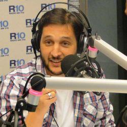 German Paoloski debuto en Radio 10