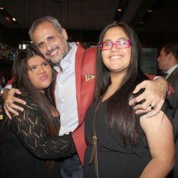 Morena, Jorge y Rocio Rial