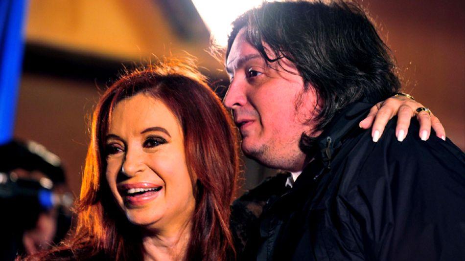 Máximo y Cristina, juntos.