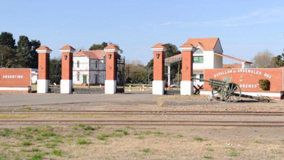 MEDIDA. El Batallón 603 está en el predio de la fábrica militar. Ayer fue cerrado por orden del ministro de Defensa.