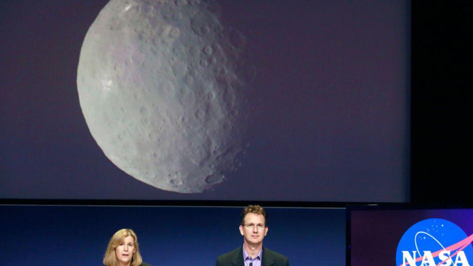 Anuncio. La NASA dio detalles de la llegada de Dawn a Ceres.