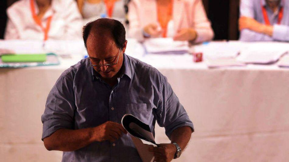 Sanz había descartado incluir al líder del Frente Renovador, Sergio Massa, en un frente nacional opositor.