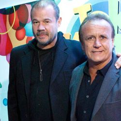 Chino Volpato y Miguel Del Sel
