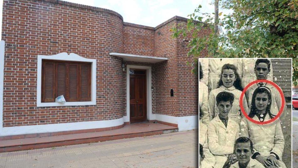 La casa donde fue desalojada CFK.