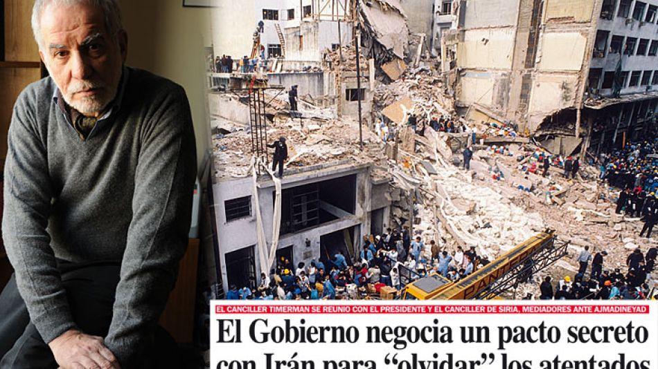 """En 2011, Pepe Eliaschev reveló que el Gobierno negociaba con Irán un pacto para """"olvidar"""" los atentados."""