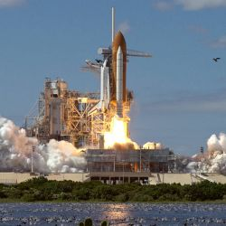 Shuttle Launch Nature