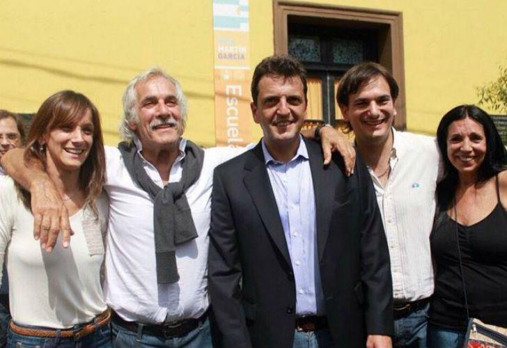 Los Galmarini-Massa, a pleno