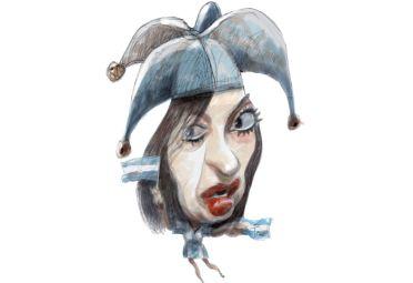 Cristina Kirchner por Pablo Temes