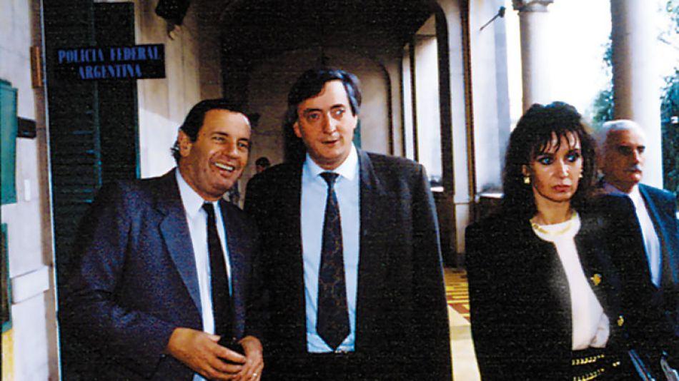 Cristina y Néstor, en 1994, en la convención que reformó la Constitución en el menemismo.