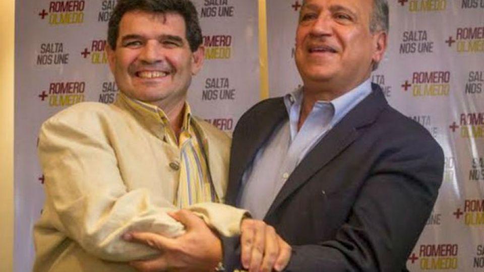 Alfredo Olmedo y Juan Carlos Romero.